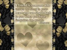friendship quotes meaningful words brown cute colour theme a