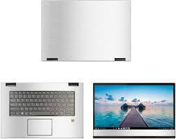 Amazon Com Decalrus Protective Decal For Lenovo Yoga 730 15 15 6 Screen Laptop Silver Texture Brushed Aluminum Skin Case Cover Wrap Balenovoyoga730 15silver Electronics