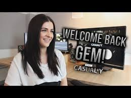 Casualty: Rebecca Ryan Interview - YouTube