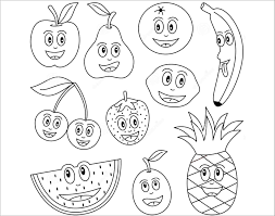 Bộ 50+ bức ảnh tô màu hoa quả giúp bé tư duy tốt hơn ?