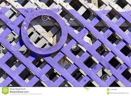 Purple And White Painted Fence Stock Image Image Of Board Texture 113305365