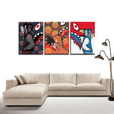 Bape Abstract Canvas Hypebeast Canvas Wall Art Pop Culture Canvas Wall Decor Art Art Posters