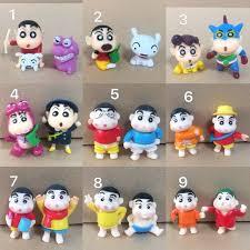 crayon shin chan figurines terrarium diy crafts collection