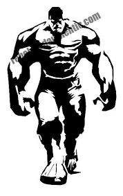 White Hulk 6 Vinyl Decal Rebel Rd Auth