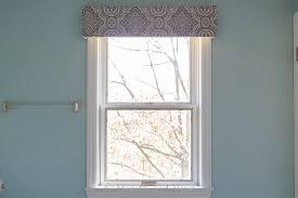 making a fabric covered window cornice