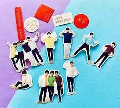 Muurversieringen Stickers Bts Korean Boy Band K Pop Artist Singer Vinyl Decal Laptop Car Bumper 7 Stickers Huis Samsungupdated Com