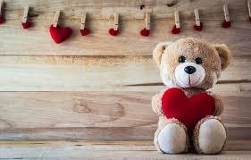 bear love toy bear heart romantic