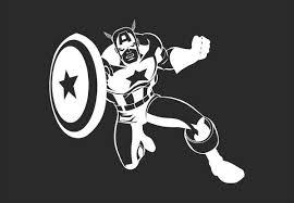 Captain America Avengers Inspired Vinyl Decal For Mac Azvinylworks