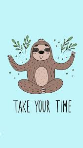 kawaii sloth wallpapers top free