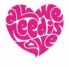 All We Need Is Love Beatles Lennon Heart - All You Need Is Love ...