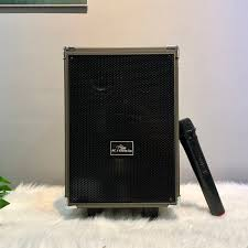 TẶNG MICRO KHÔNG DÂY ] Loa kéo mini Kiomic Q8, Loa karaoke mini công suất  lớn, nghe nhạc hát karaoke cực hay + Bảo hành chính hãng