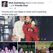 Mark Zuckerberg & Priscilla Chan are Expecting Baby No. 2... and it's a  Girl! | BellaNaija