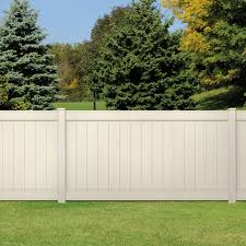 Pro Series Lakewood 4x8 Vinyl Privacy Fence Panel Yard Home