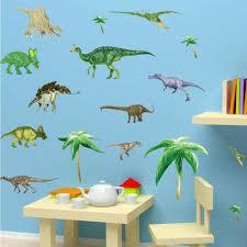 Hot 50x70cm 3d Dinosaurs Kids Room Children Vinyl Dino Wall Stickers Baby Boy Nursery Wall Decals Aliexpress Com Imall Com