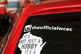 Theofficialwcec Instagram Decal Wisconsin Car Enthusiast Club