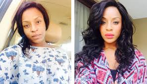 mzansi celebs shows off their faces
