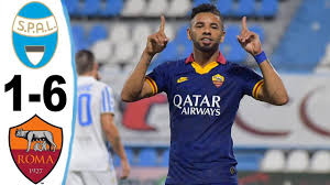 Roma Vs Spal 6:1 All Goal & Highlight 2020 - YouTube