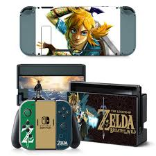 Link Zelda Breath Of The Wild Decal Set For Nintendo Switch Home Import World