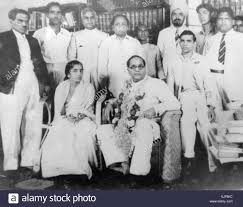 Image result for Ambedkar with Mahar Regiment on his birthday, 1950.