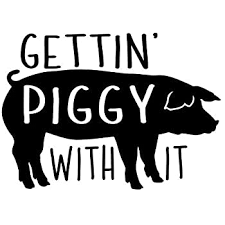 Amazon Com Pig Decal Everything Else