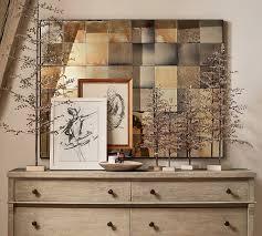 wyatt paneled mirror art wall decor