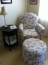 Toile de Jouy Glider & Rocker (found similar to this) | Home, Glider  rocker, Chair and ottoman