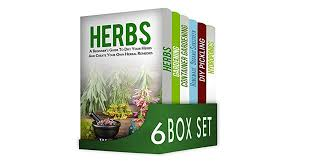 herbs and es 6 in 1 box set herbs