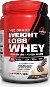pro grade weight loss whey protein