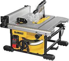 New Dewalt Compact 8 1 4 Jobsite Table Saw Dwe7485
