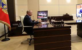 Путин впервые проведет дистанционное совещание с министрами. «RBC ...