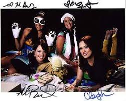 TEAM UNICORN (Clare Grant, Rileah Vanderbilt, Michele Boyd, Milynn Sarley)  8x10 Cast Photo Signed In-Person at Amazon's Entertainment Collectibles  Store