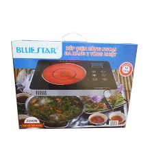 Bếp điện hồng ngoại BlueStar NS-468EI 2000W + Vỉ nướng tráng men ...