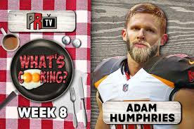 What's Cooking?: Adam Humphries | Pewter Report