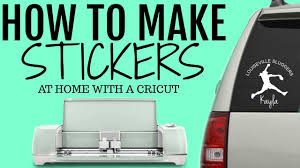How To Make Stickers Decals At Home Youtube