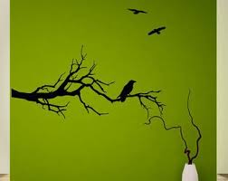 Game Of Thrones Wall Decals Tree Branch With Ravens Wall Decal Sticker Mural Game Of Thrones Fans Tree Wall Decal Wall Decal Sticker Wall Decals