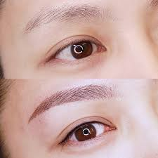 eyebrow enhancement semi permanent