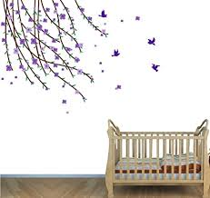 Amazon Com Teal Wall Decor Tree Branch Decals Kids Room Decals Baby