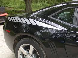At Superb Graphics We Specialize In Custom Decals Graphics And Rally Stripes For Car Truck Motorcycle Suv Golf Cart And Boat 2010 2013 Camaro Fading Rear Quarter Fender Stripe Decals