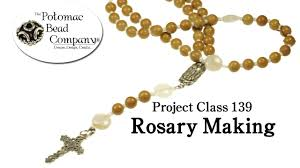 how to make a beaded rosary you