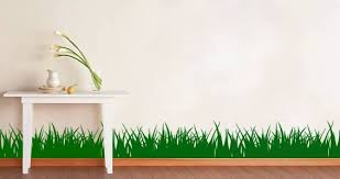 Grass Wall Decals Dezign With A Z