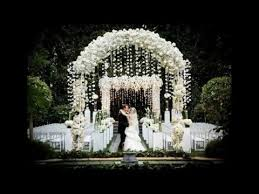 best garden wedding arch decorations