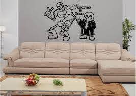 Undertale Sans And Papyrus Wall Decal Window Decal Car Etsy