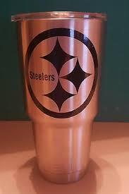 Pittsburgh Steelers Decal Sticker For Tumbler Rambler Beer Mug Car Truck Home Garden Children S Bedroom Sports Decor Decals Stickers Vinyl Art Ayianapatriathlon Com