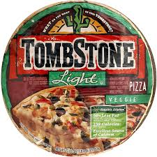 tombstone pizza light veggie pizza