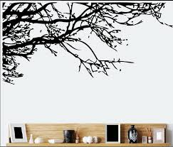 Large 60x140cm Black Tree Branches Wall Sticker Home Decor Wall Decals For Living Room Bedroom Stickers Murals Wall Sticker Branch Wall Stickerswall Sticker Black Aliexpress