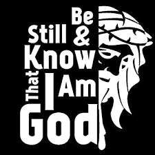 Amazon Com Be Still And Know That I Am God Vinyl Decal Sticker Car Truck Van Wall Laptop White 5 5 In Kcd679 Automotive