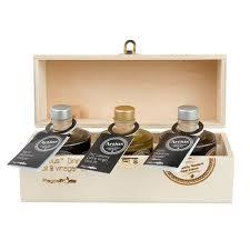artius gift box olive oil vinegar set