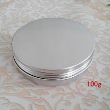 100g empty aluminium cosmetic conner