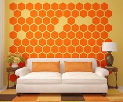 Hexagon Wall Decal Honeycomb Wall Decal Geometric Wall Decal Modern Decals Ebay