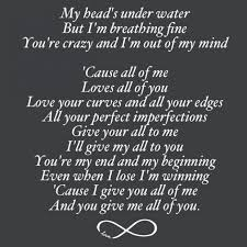 love quotes from songs for engagement card collection of